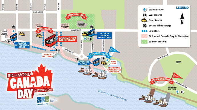 Richmond Canada Day – Ships to Shore