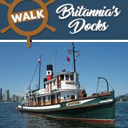 Walk Britannia's Docks