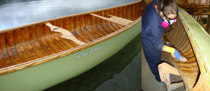 Upcoming Registered Course: Canvasing Canoe Restoration